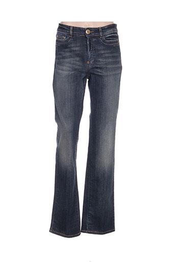 maxmara jeans femme de couleur bleu