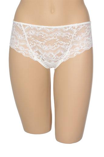 cotton club lingerie femme de couleur blanc