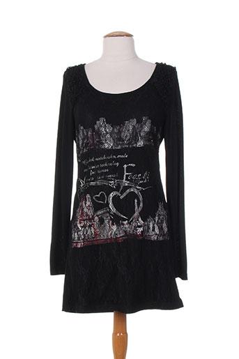 frime robes femme de couleur noir