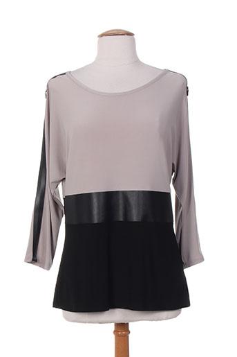 frank lyman t-shirts femme de couleur gris