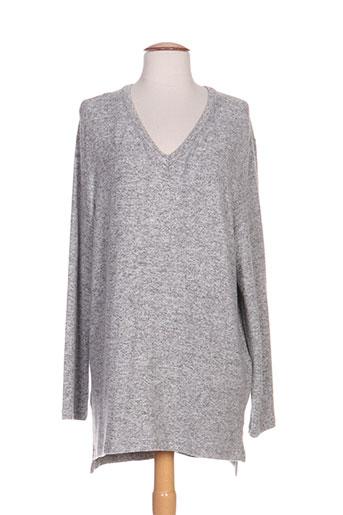 ringella pulls femme de couleur gris