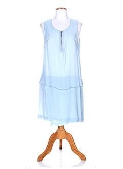 Robe mi-longue bleu MADO ET LES AUTRES pour femme