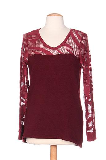 maloka pulls femme de couleur rouge