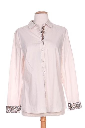 titazen blouses chemises femme de couleur beige