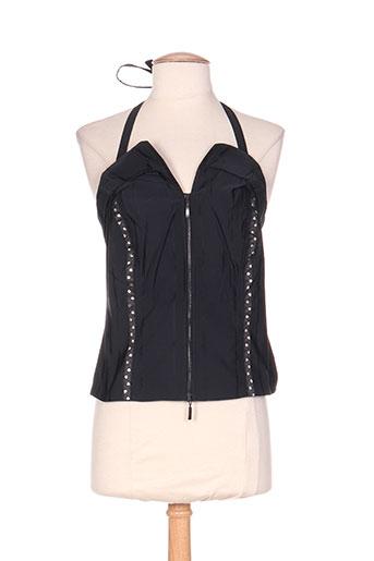heyma chemises femme de couleur noir