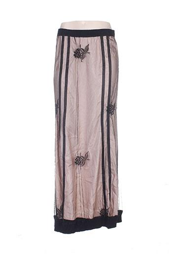 Jupe longue noir HEYMA pour femme