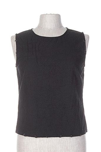 solola chemises femme de couleur noir