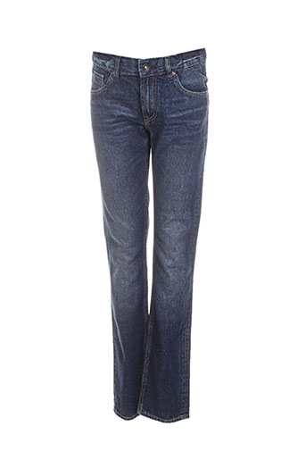 teddy smith jeans fille de couleur bleu