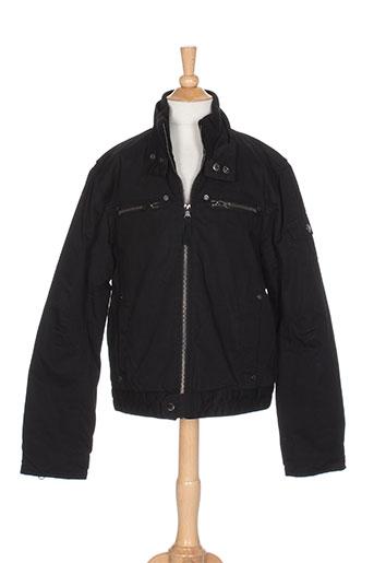 teddy smith vestes garçon de couleur noir