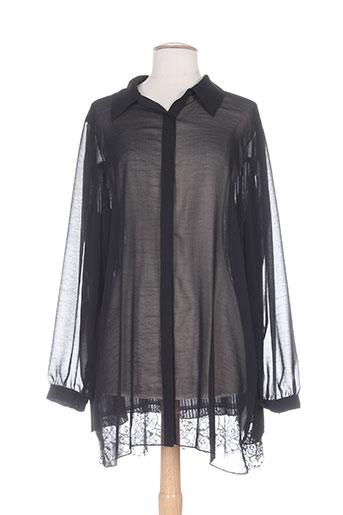 x-two chemises femme de couleur noir