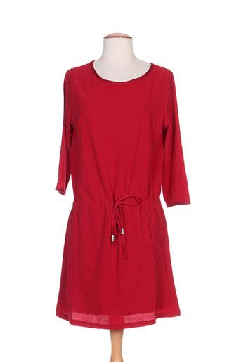 noémie EFFI_CHAR_1 co robes femme de couleur rouge