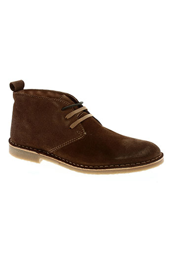 selected chaussures homme de couleur marron