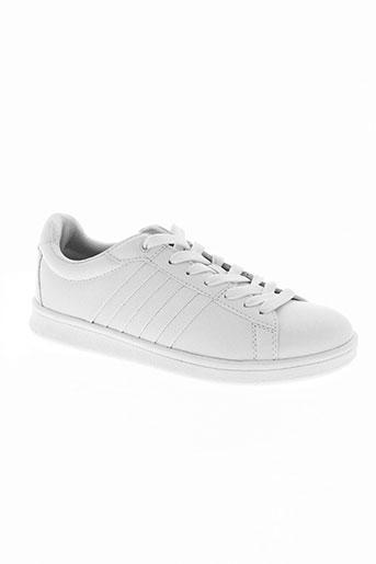 ichi chaussures femme de couleur blanc
