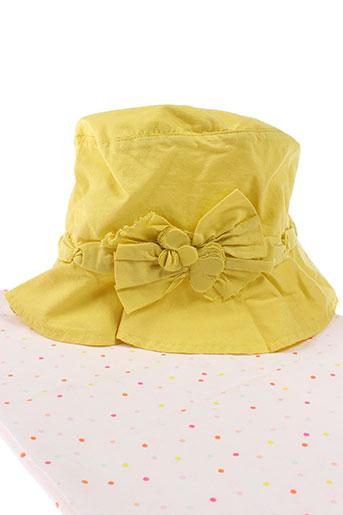 eliane et lena accessoires fille de couleur jaune