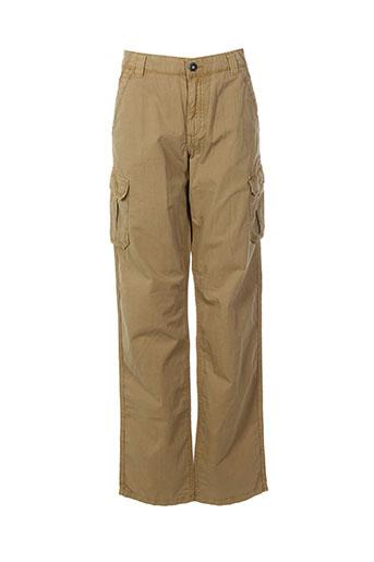 napapijri pantalons garçon de couleur beige