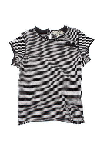 eliane et lena t-shirts fille de couleur noir