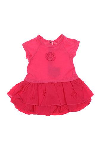 taille 0 robes fille de couleur rose
