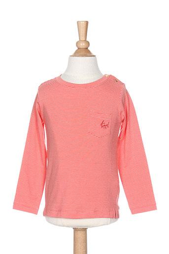 T-shirt manches longues orange TUMBLE'N DRY pour fille