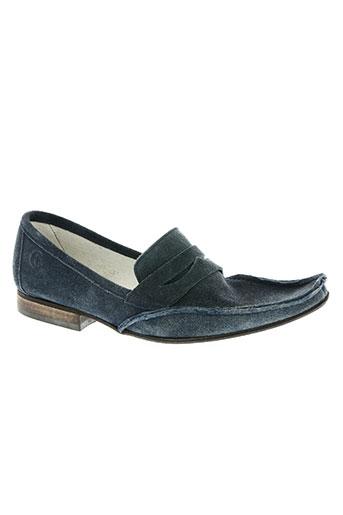 stephane gontard chaussures femme de couleur bleu