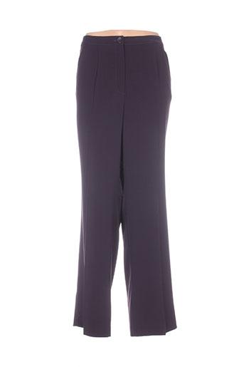 cavita pantalons femme de couleur violet