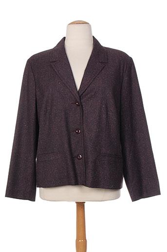 francoise vestes femme de couleur violet