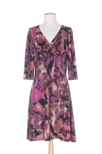 lonkel robes femme de couleur violet