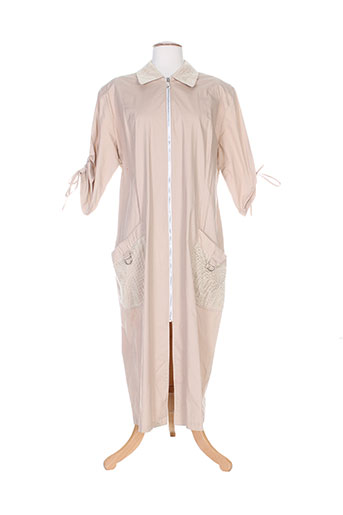 clin d'oeil robes femme de couleur beige