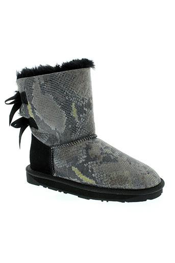 cinderella chaussures femme de couleur gris