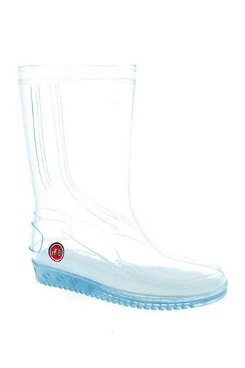 ifb chaussures enfant de couleur blanc