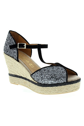 medrenas chaussures femme de couleur gris