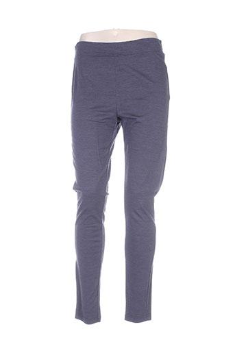cassiopee pantalons femme de couleur violet