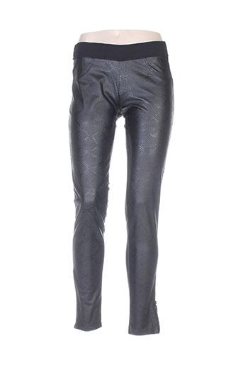 Pantalon casual noir AMS PURE pour femme