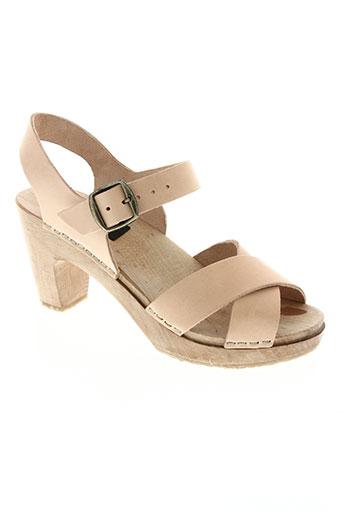 l'atelier scandinave chaussures femme de couleur beige