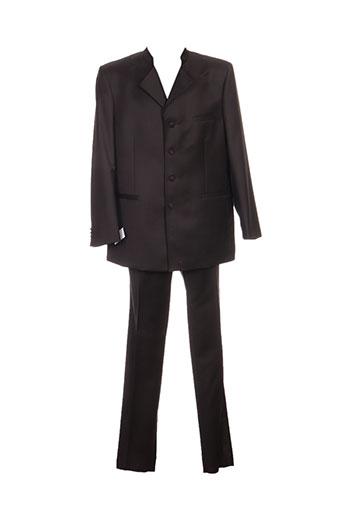 Costume de ville marron FRANCK ELISEE pour homme