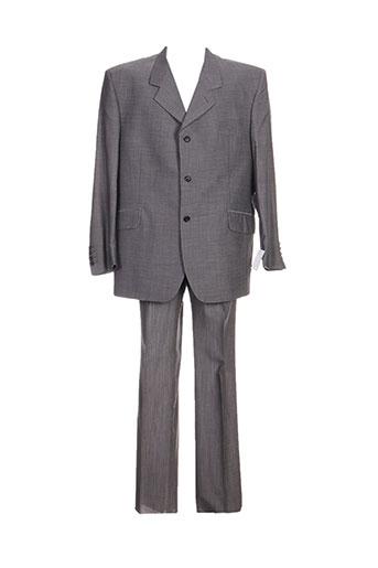 alexandre dony costumes homme de couleur gris