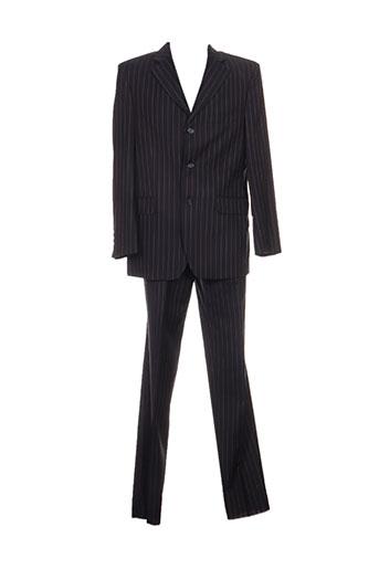Costume de ville noir FRANCK ELISEE pour homme
