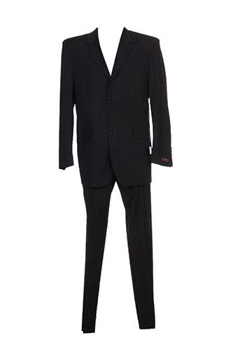 Costume de ville noir KAMAO pour homme