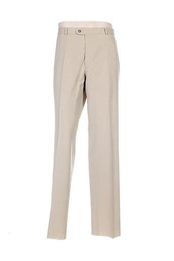 alexandre dony pantalons homme de couleur beige