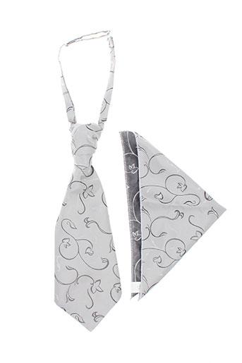 Cravate gris WEDDING pour homme