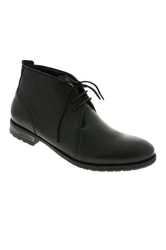 marlboro classics chaussures homme de couleur noir