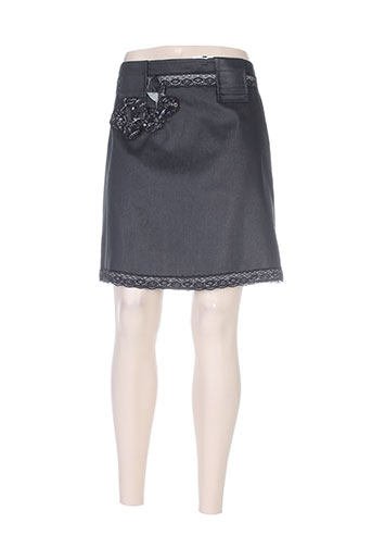 lea greb jupes femme de couleur gris