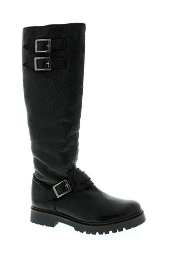 hooper shoes chaussures femme de couleur noir