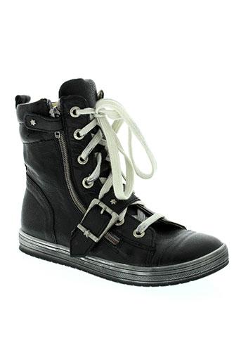 bellamy chaussures fille de couleur noir
