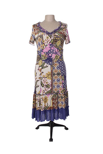 evalinka robes femme de couleur violet