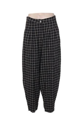 alembika pantalons femme de couleur gris