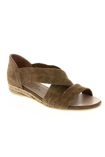 gaimo chaussures femme de couleur marron