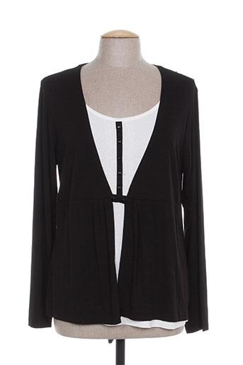 lewinger chemises femme de couleur noir