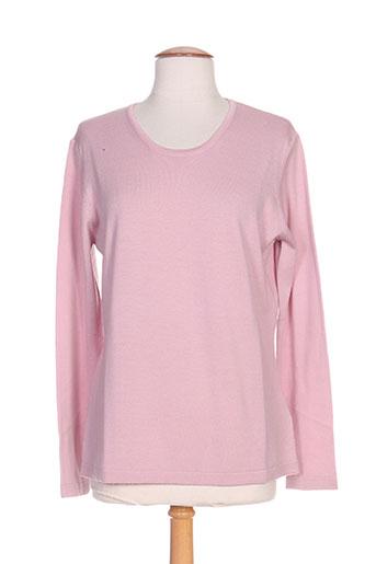 giulia pulls femme de couleur rose