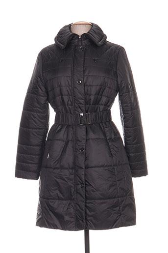 duvami manteaux femme de couleur noir
