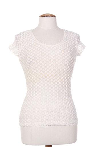 lo! les filles chemises femme de couleur blanc